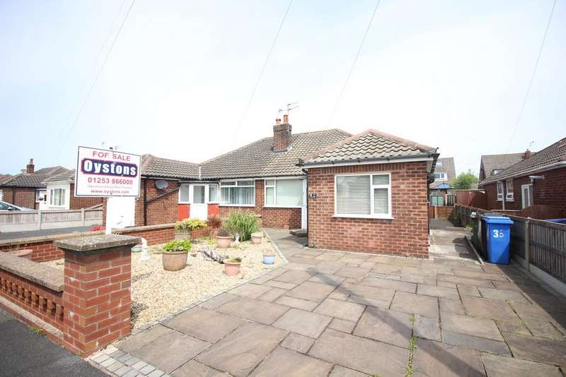 2 Bedrooms Semi Detached Bungalow for sale in St. Johns Avenue, Thornton-Cleveleys