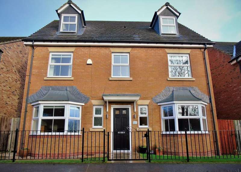 6 Bedrooms Detached House for sale in Surtees Drive, Low Willington