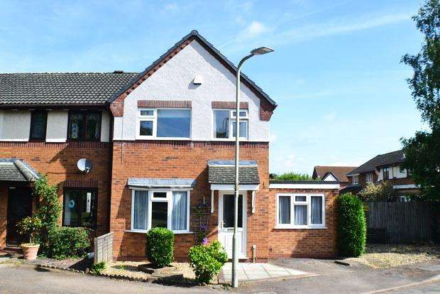 3 Bedrooms Semi Detached House for sale in Rolleston Close, Market Harborough, Leicestershire, LE16
