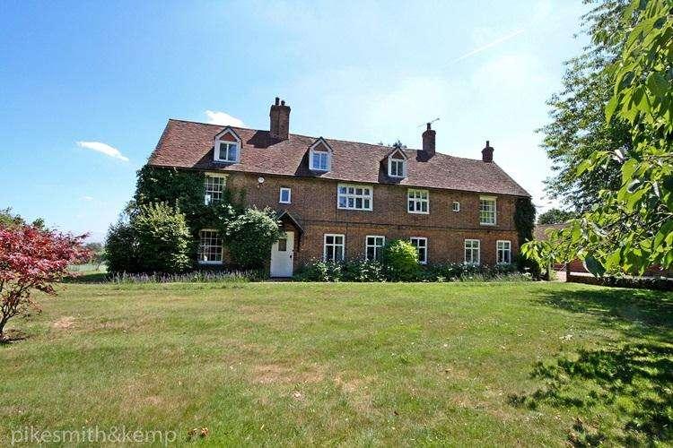 6 Bedrooms Detached House for sale in Scarletts Lane, KILN GREEN, RG10
