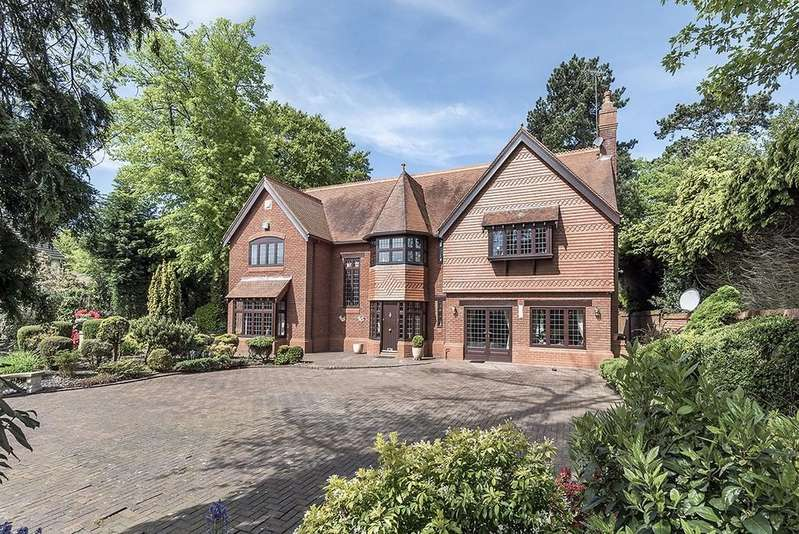 5 Bedrooms Detached House for sale in Butchers Lodge, Hampton In Arden