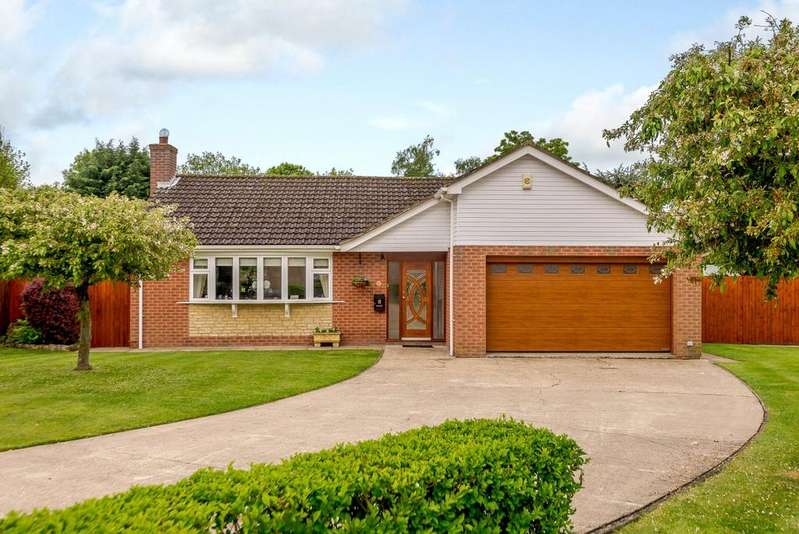 3 Bedrooms Detached Bungalow for sale in Manor Farm Drive, Sturton By Stow, Lincoln, LN1