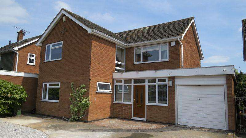 4 Bedrooms Detached House for sale in Henley Close, Nuneaton