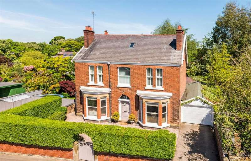 5 Bedrooms Detached House for sale in Victoria Road, Macclesfield, Cheshire, SK10