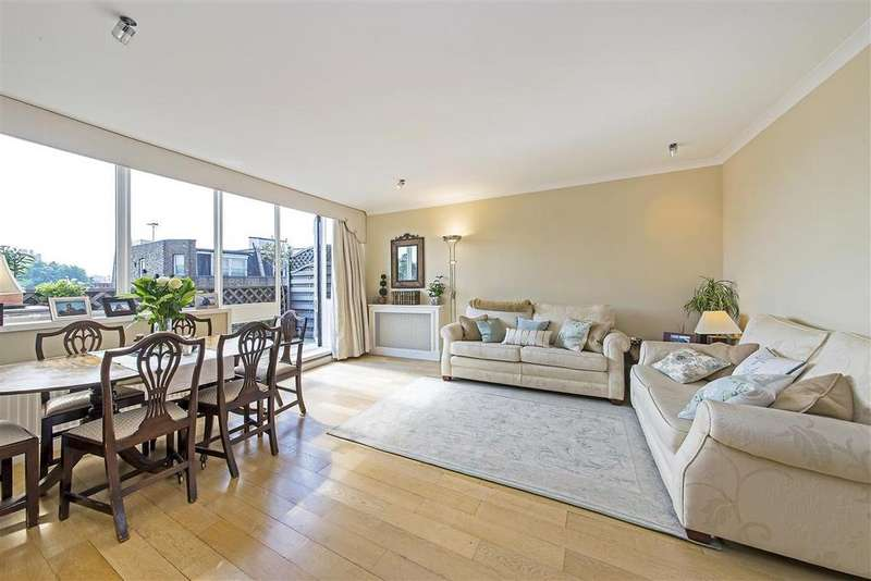 2 Bedrooms Flat for sale in Cavaye House, Cavaye Place, SW10