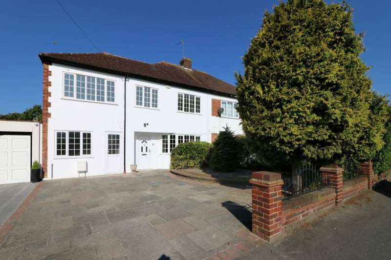 6 Bedrooms Semi Detached House for sale in Pettits Lane, Romford, RM1