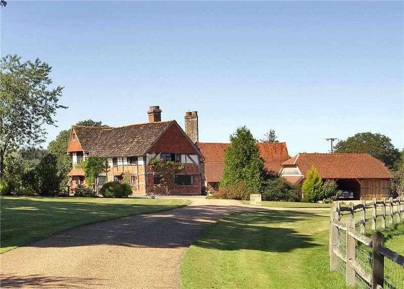 6 Bedrooms Detached House for sale in Guildford Road, Slinfold, Horsham, West Sussex, RH13