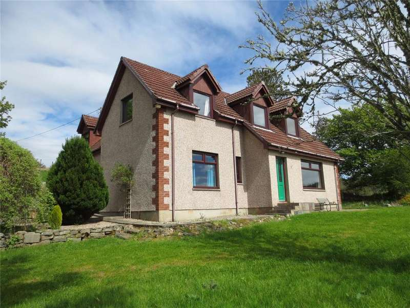 4 Bedrooms Detached House for sale in Hill Cottage, Lairg, Highland, IV27