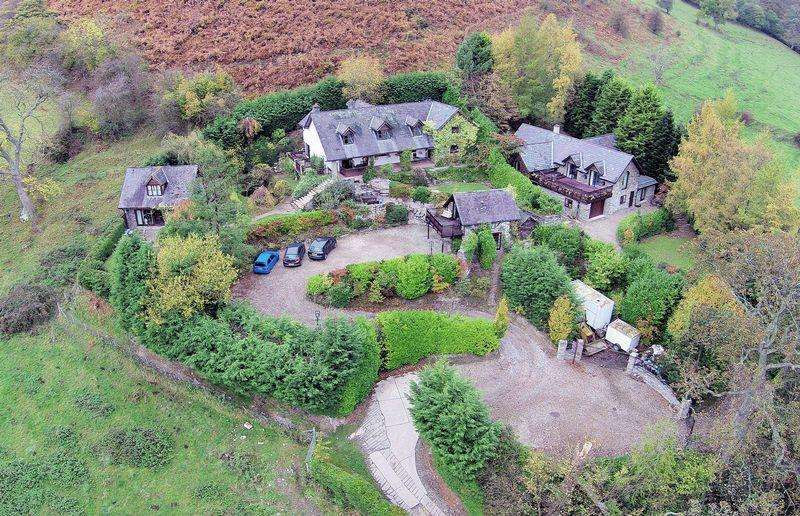 Guest House Commercial for sale in Pen-y-Bryn, Horseshoe Pass, Llangollen. LL20 8DW