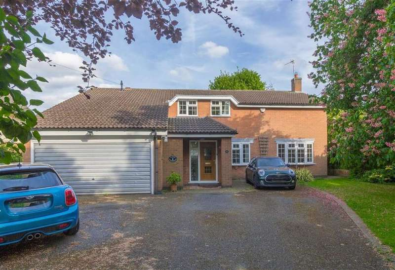 5 Bedrooms Detached House for sale in Tickow Lane, Shepshed, LE12