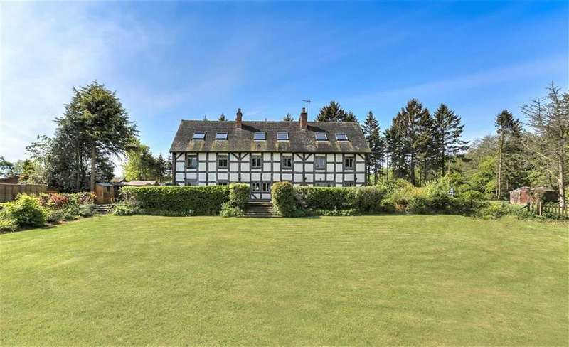 6 Bedrooms Detached House for sale in Pulverbatch, Shrewsbury