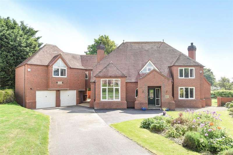 4 Bedrooms Detached House for sale in Sheppards Close, Heighington, LN4