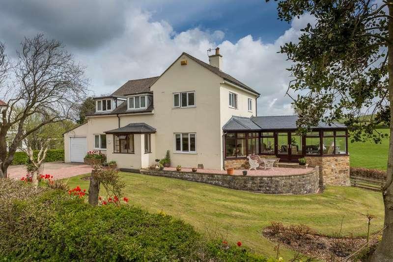 4 Bedrooms Detached House for sale in Ewood House, 11 Ancliffe Lane, Bolton Le Sands, Carnforth, LA5 8DS