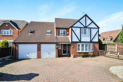 5 Bedrooms Detached House for sale in Hawthorne Close, Stanton Hill, Nottinghamshire, Notts