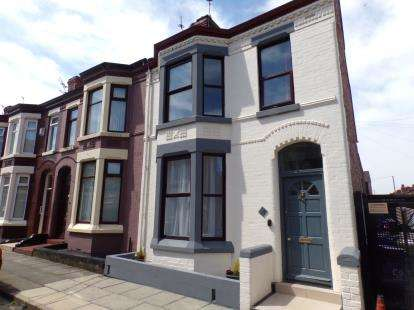 4 Bedrooms End Of Terrace House for sale in Swanston Avenue, ., Liverpool, Merseyside, L4