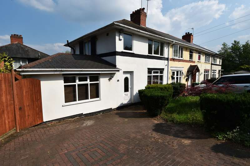 3 Bedrooms Semi Detached House for rent in Pavilion Avenue, Smethwick, B67