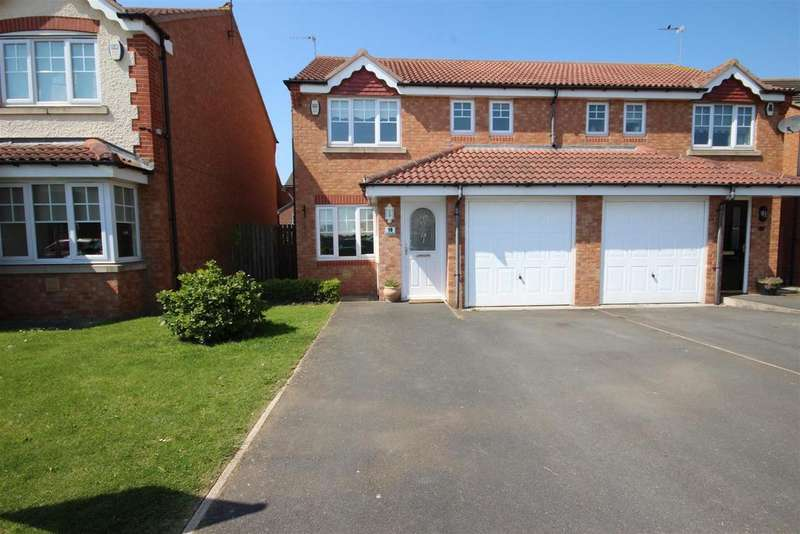 3 Bedrooms Semi Detached House for rent in Cornflower Close, Bishop Cuthbert, Hartlepool