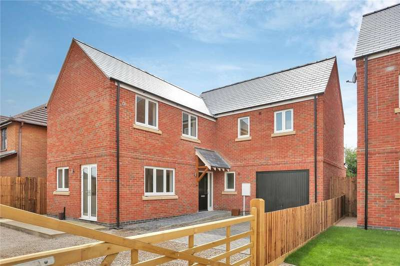 4 Bedrooms Detached House for sale in Halstead Road, Mountsorrel, Loughborough