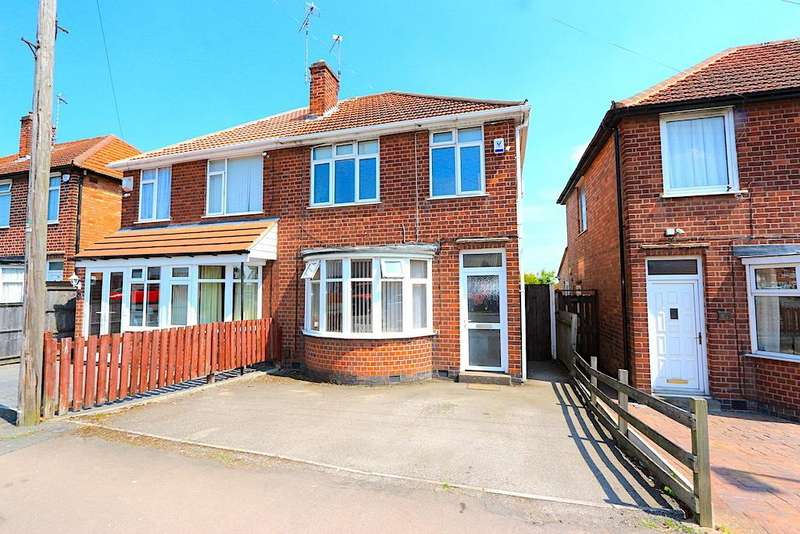 3 Bedrooms Detached House for sale in Henley Crescent, Braunstone Town