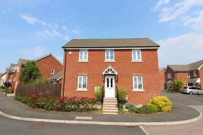 4 Bedrooms Detached House for sale in Cromwell Close, Newtown, Berkeley