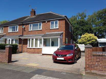 3 Bedrooms Semi Detached House for sale in Dunnisher Road, Manchester, .