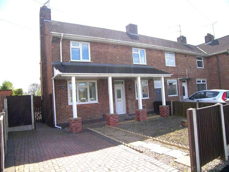 2 Bedrooms Semi Detached House for rent in Windsor Crescent, Kirk Hallam, Ilkeston, Derbyshire, DE7