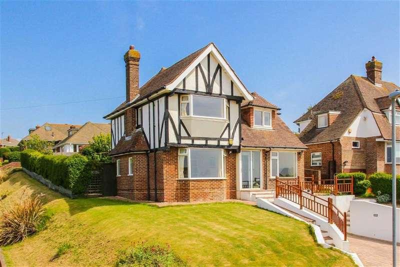 4 Bedrooms Detached House for sale in Station Road, Bishopstone, East Sussex