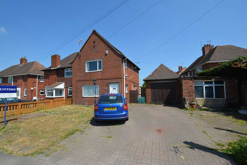 3 Bedrooms Semi Detached House for sale in Chesterfield Road, Holmewood, Chesterfield, S42