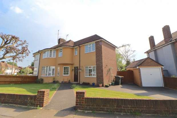 4 Bedrooms Semi Detached House for sale in Parkfield Avenue, Eastbourne, BN22