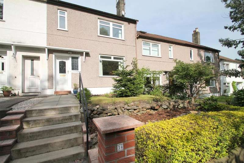3 Bedrooms Terraced House for sale in 34 Beechwood Drive, Broomhill, GLASGOW, G11 7EX