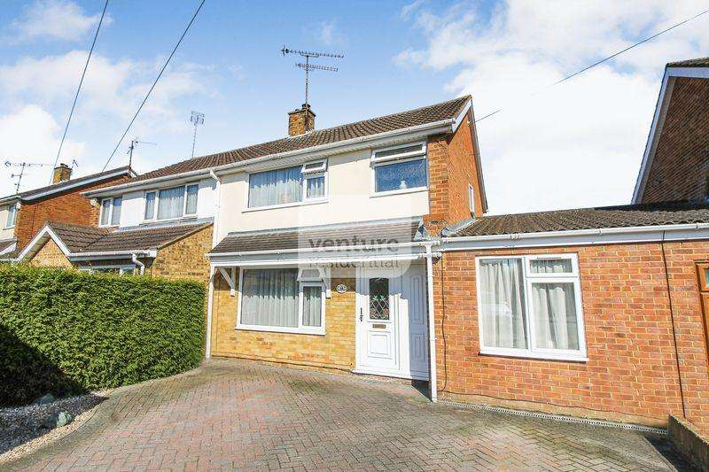 3 Bedrooms Semi Detached House for sale in Bosmore Road, Luton