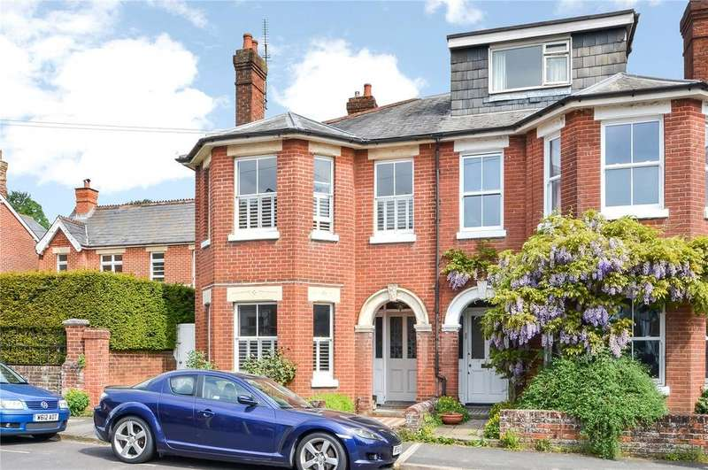 4 Bedrooms Semi Detached House for sale in Arthur Road, Winchester, Hampshire, SO23