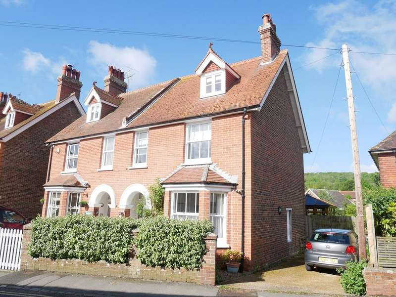 4 Bedrooms Semi Detached House for sale in West Street, Alfriston, BN26