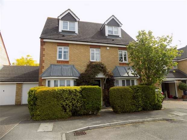 5 Bedrooms Detached House for sale in Warneford Way, Leighton Buzzard, Bedfordshire