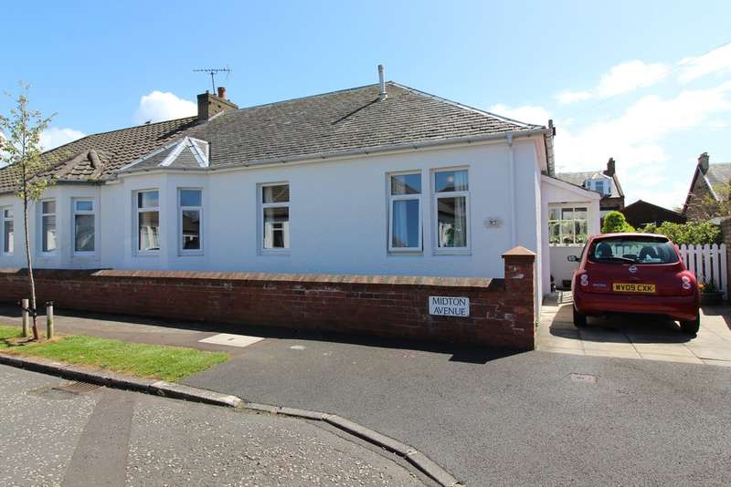 3 Bedrooms Semi Detached Bungalow for sale in Midton Avenue, Prestwick, KA9