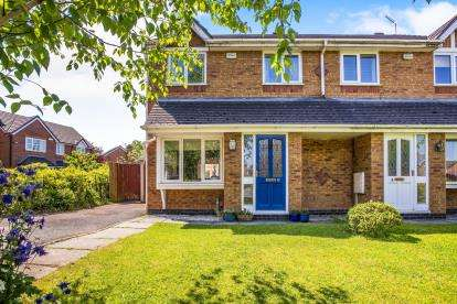3 Bedrooms Semi Detached House for sale in Teil Green, Fulwood, Preston, Lancashire