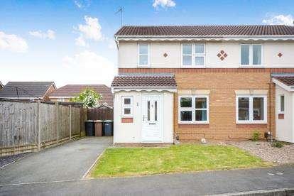 3 Bedrooms Semi Detached House for sale in Akeman Drive, Bracebridge Heath, Lincoln, Lincolnshire