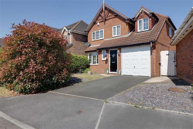3 Bedrooms Detached House for sale in Angelina Close, Elworth, Sandbach