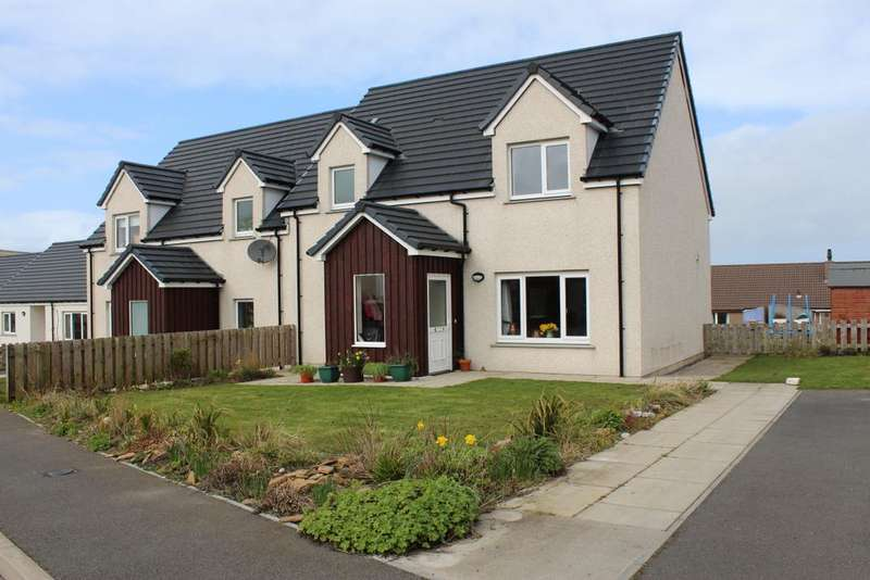 3 Bedrooms Semi Detached House for sale in Coplands Drive, Stromness, Orkney KW16