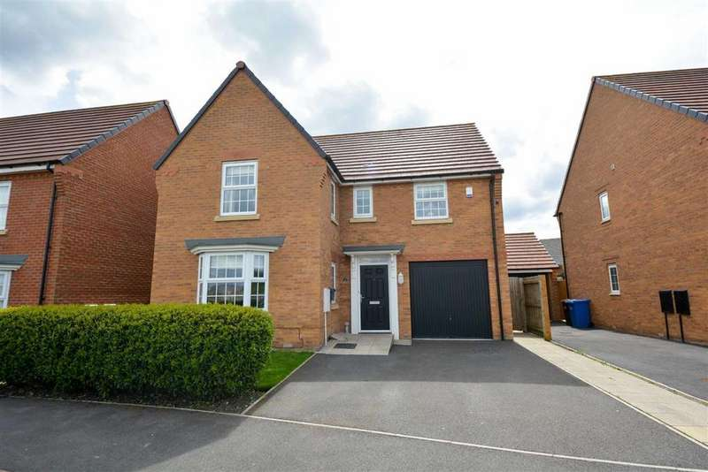 4 Bedrooms Detached House for sale in Laverick Grove, Highfield, Wigan, WN3