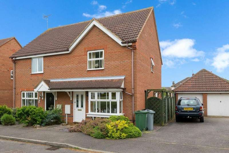 3 Bedrooms Semi Detached House for sale in Churchfields Road, Folkingham, Sleaford, NG34