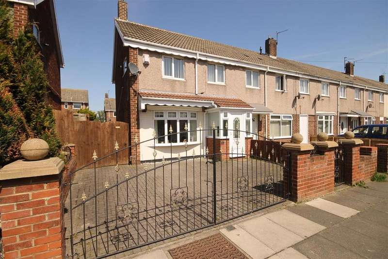 2 Bedrooms End Of Terrace House for sale in Marlowe Road, Rift House, Hartlepool