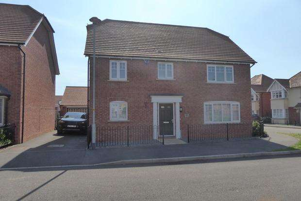 4 Bedrooms Detached House for sale in Maxwell Crescent, Northampton, NN5