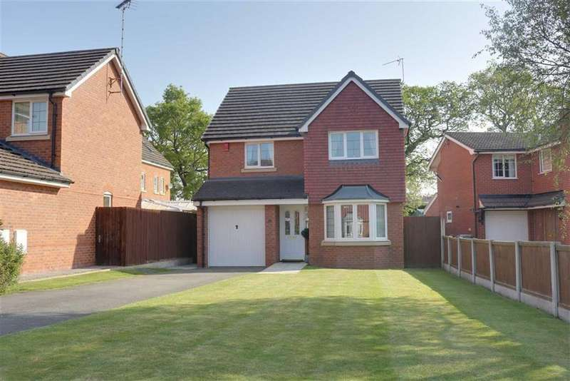 4 Bedrooms Detached House for sale in Lochleven Road, Wistaston, Crewe