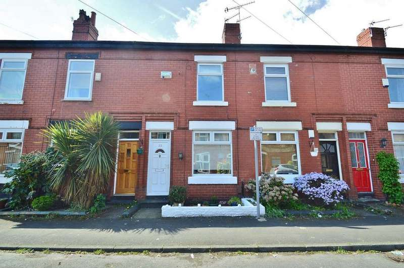 2 Bedrooms Terraced House for sale in Eaton Road, Sale