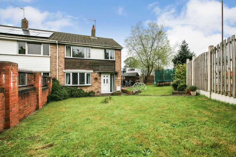 3 Bedrooms Semi Detached House for sale in Whittington Hill, Old Whittington, Chesterfield, Derbyshire, S41 9EZ