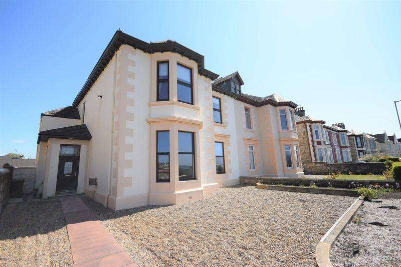 3 Bedrooms Apartment Flat for sale in 13A Montgomerie Crescent, Saltcoats KA21 5BX
