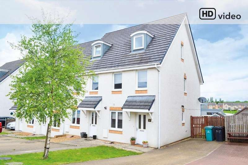 3 Bedrooms Town House for sale in Crofton Wynd, Airdrie, North Lanarkshire, ML6 7GJ
