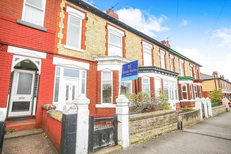 3 Bedrooms Terraced House for rent in Southwood Road, Great Moor, Stockport, SK2