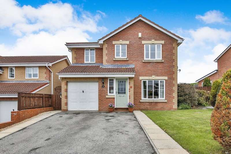 4 Bedrooms Detached House for sale in Muirfield Close, Consett, DH8